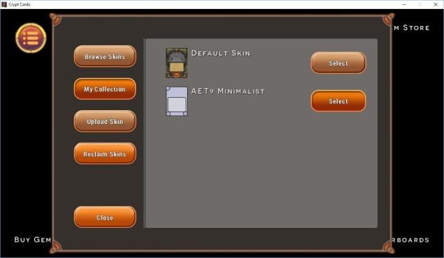 Cryptcards beta screenshot 2